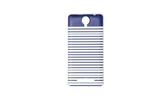 Силиконовый чехол-бампер для телефона Nomi (Номи) i5010 EVO M Полосочки