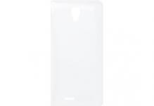 Силиконовый чехол-бампер для телефона Nomi (Номи) i4510 BEAT M Прозрачный