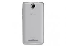 Силиконовый чехол-бампер для телефона Nomi (Номи) i5010 EVO M Прозрачный