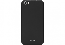 Силиконовый чехол-бампер для телефона Nomi (Номи) i5030 EVO X Черный