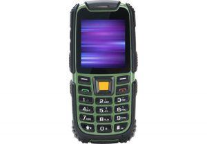 Мобильный телефон Nomi (Номи) i242 X-treme Черно-Зеленый