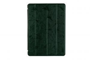 Чехол для планшета Nomi (Номи) С09600 Stella Зеленый c цветами