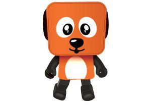 Портативная акустика Nomi (Номи) Dancing Dog BT 911 Orange