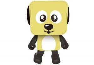 Портативная акустика Nomi (Номи) Dancing Dog BT 911 Yellow