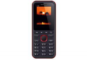 Мобильный телефон NOMI (Номи) i186 Black-red