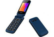 """Мобильный телефон """"Раскладушка"""" Nomi (Номи) i246 Синий"""