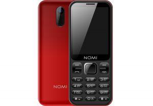 Телефон NOMI i284 Red