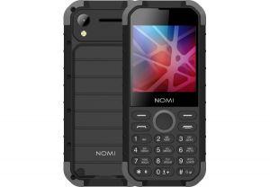 Телефон NOMI i285 X-Treme Black-Grey