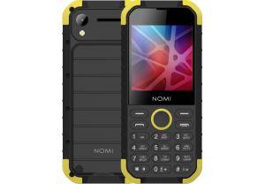 Телефон NOMI i285 X-Treme Black-Yellow