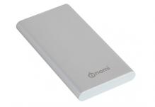Универсальная мобильная батарея Nomi (Номи) E100 10000 mAh  Серебристый