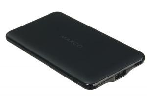Универсальная мобильная батарея Power Bank Maxco Razor 8000 mAh Black