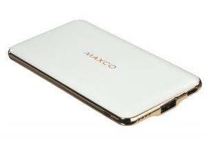 Универсальная мобильная батарея Power Bank Maxco Razor 8000 mAh White