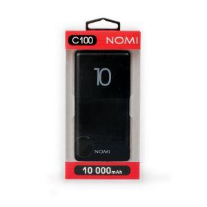Power bank NOMI C100 10000 mAh Black